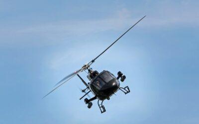 Få en på opleveren med en tur i helikopter